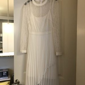 White (NEW) BCBG Dress